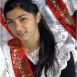 Вахидова  Зарема, выпускница школы №10 хутора Перевальный