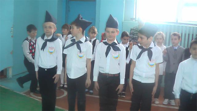 Смотр строя и песни в начальной школе