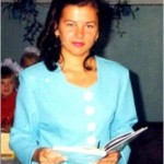 Фадеева Алевтина, выпускница школы №10 хутора Перевальный