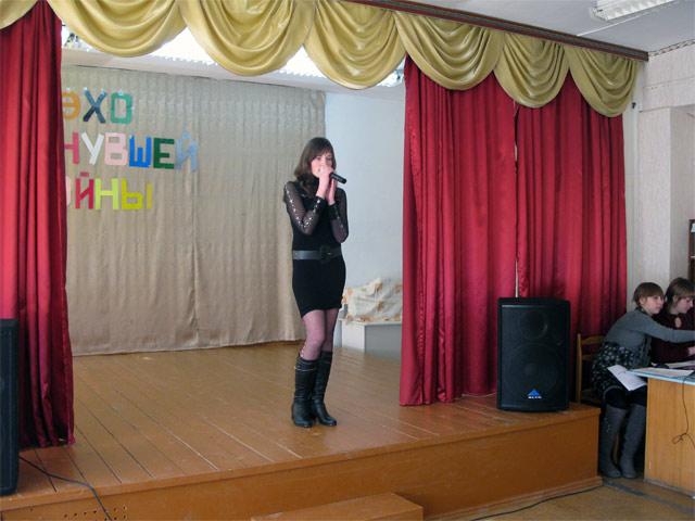 Фестиваль патриотической песни «Эхо минувшей войны»
