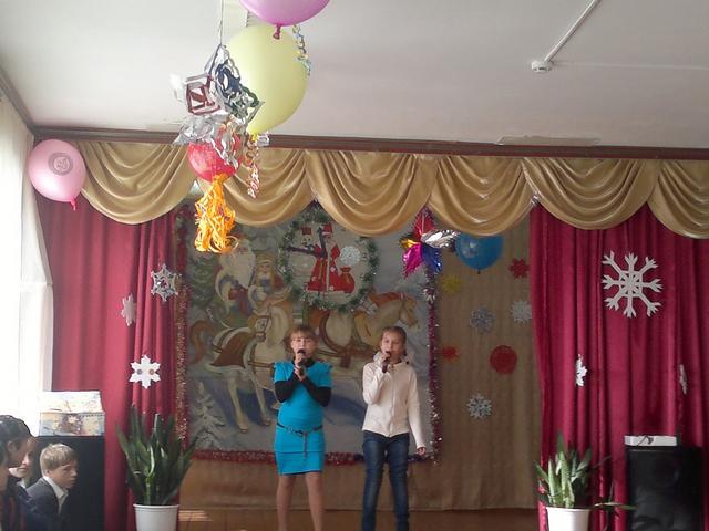 Новый Год в нашей школе