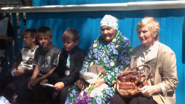 Встреча с тружеником тыла Белановой Марией Петровной